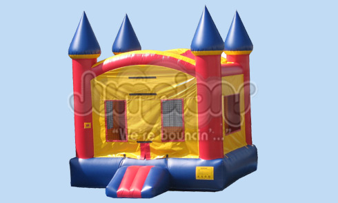 Moon Bounce With Basketball Horizon Party Rentals